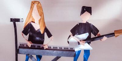 Les créations en origami du groupe Ann'so M
